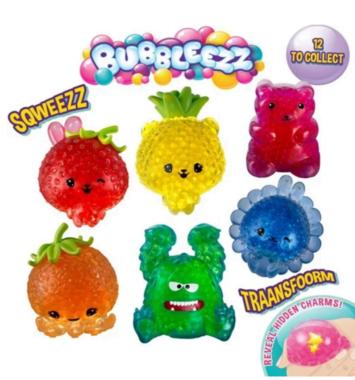 Squeezy farverigt legetoej