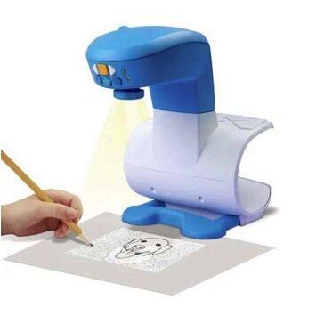 Projector der projicerer skitse