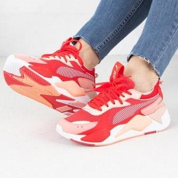 Sneakers røde til damer og kvinder