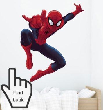 Superhelte klistermærke til væg