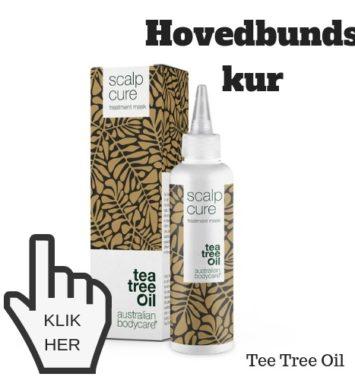 Tea Tree Oil hårkur mod irriteret hovedbund kløe