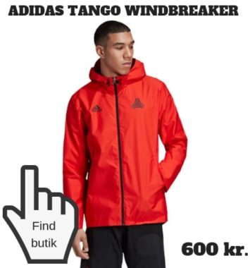 Windbreaker jakke fra Adidas som julegave