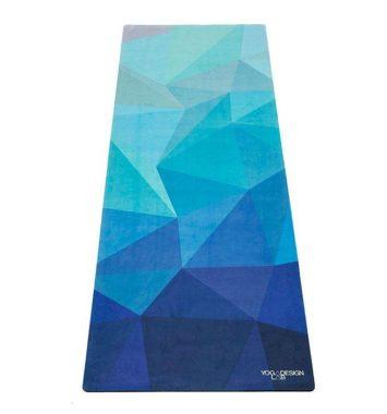 miljovenlig yogamaatte blaa
