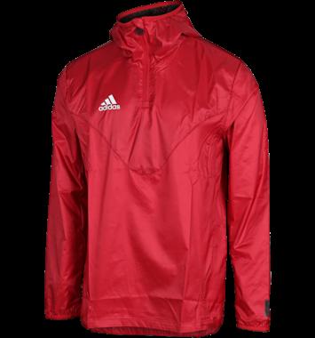 Rød Adidas sports jakke