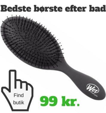 børste til efter bad hårkur guide skadet hår