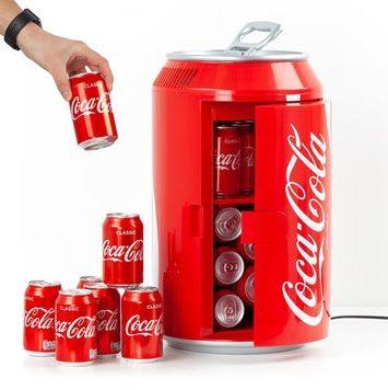 Coca Cola køleskab som en god gaveidé