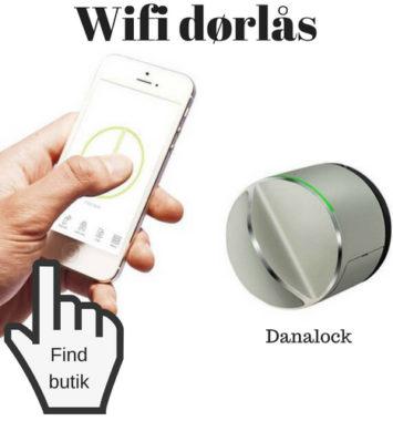 danalock wifi dørlås