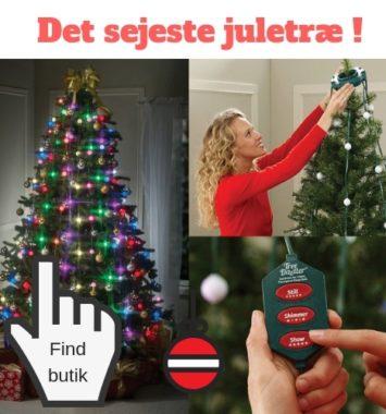 det sejeste lys til juletræet