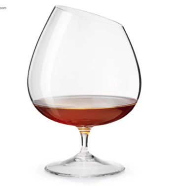 flot cognac glas