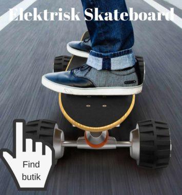 gaveide til teenage dreng skateboard elektrisk