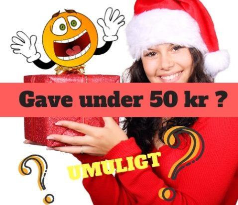 gaver under 50 kr