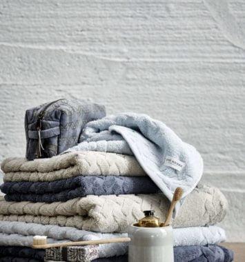 Håndklæder i bomuld