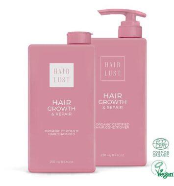 okologisk shampoo og balsam