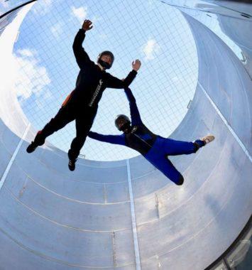 indendørs skydiving