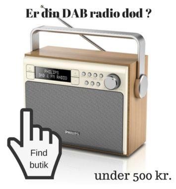 julegaveønsker DAB+ radio