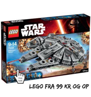 julegaver til børn lego star wars