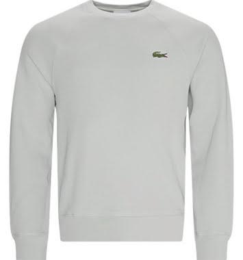 lacoste sweatshirt graa