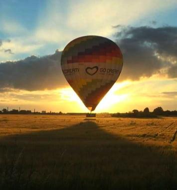oplevelse luftballon