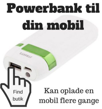 powerbank til teenager gaveide