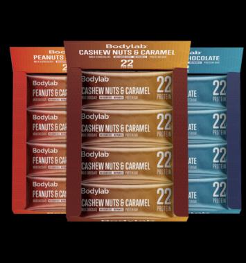 proteinbar med karamel