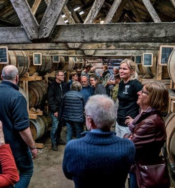 Rundvisning hos Stauning whisky