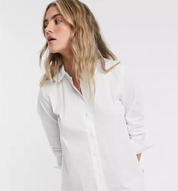 selected basic skjorte