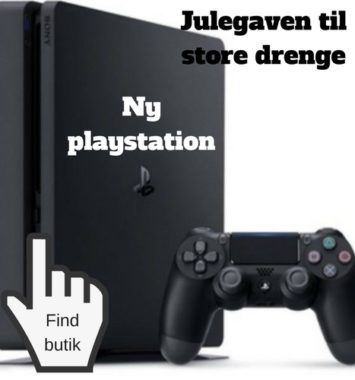 sjove julegaver til teenagere playstation